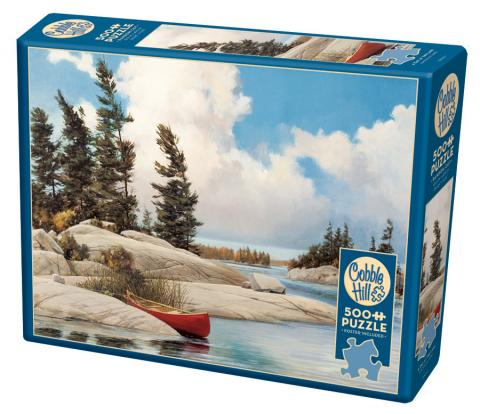 A Day at the Lake 500 piece jigsaw puzzle by Cobble Hill