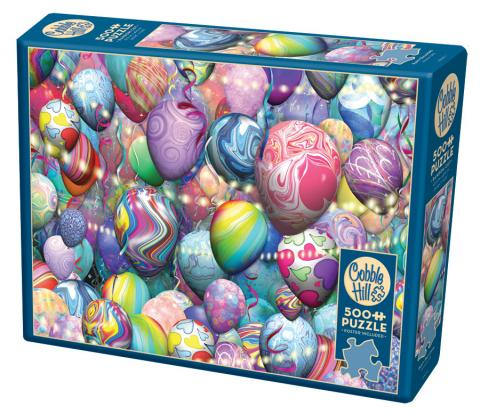 Party Balloons 500 piece jigsaw puzzle by Cobble Hill