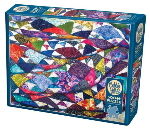 Portrait of a Quilt 500 piece jigsaw puzzle by Cobble Hill