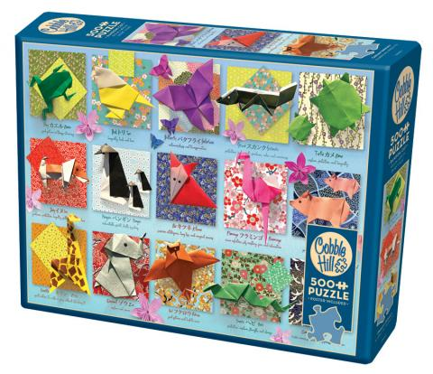 Origami Animals 500 piece puzzle by Cobble Hill