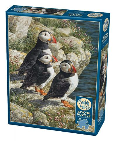 Fisherman's Wharf Cobble Hill Puzzles 500 piece jigsaw