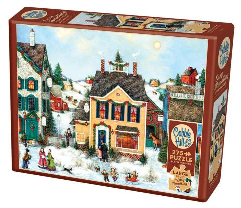 Christmas Town Easy Handling 275 Piece by Cobble Hill Puzzle Co