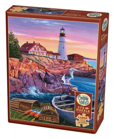 Lighthouse Cove Easy Handling 275 Piece by Cobble Hill Puzzle Co