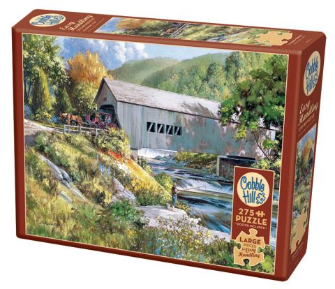 Covered Bridge Easy Handling 275 Piece by Cobble Hill Puzzle Co