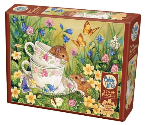 Tea for Two Easy Handling 275 Piece by Cobble Hill Puzzle Co