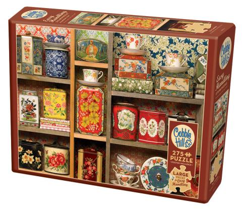 Tea Caddies Easy Handling 275 Piece by Cobble Hill Puzzle Co