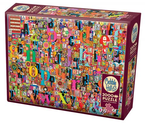 Shelley's ABC 2000 pc puzzle Cobble Hill Puzzle Co jigsaw