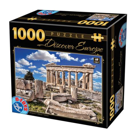 Acropolis Greece D-Toys 1000 piece famous places puzzle