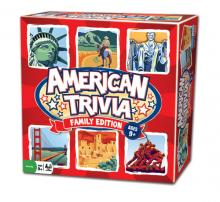 Outset's American Trivia Family Edition board game