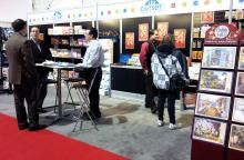 Outset Media booth at Canadian Toy and Hobby Fair