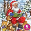 Childrens Puzzles - Santa Tales - 3-in-1 jigsaw puzzle