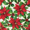 Crystal Art Card Kit Poinsettias distributed by Outset Media